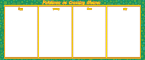 PokemonocCrossing meme from egg to old by rebe1117