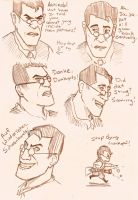 Faces of Medic by tsunamisilvers