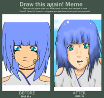 ~Before And After  Verena :D by SawaHoshi