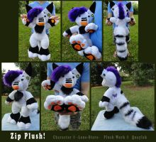 Zip Plush! by Quaylak