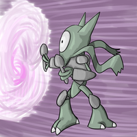 Alakazam plus Magneton thing by sweetinsanity364
