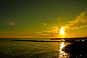 Gold at Indonesia Sky by W4750n
