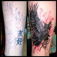 Raven cover-up by DarkArtsColective