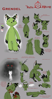 Grendel - ES ref sheet by Fox7XD