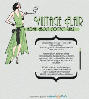 Vintage Flair layout by Archer-1