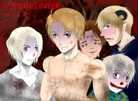 APH: Halloween, When Kids Come Out to Play (v.1) by Aloof-Star