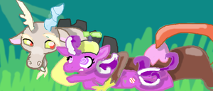 Discord and screwball by omgCheez