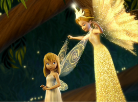 Queen Clarion and Tinker Bell by Kateyy22
