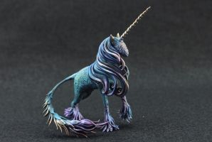 Night Unicorn by hontor