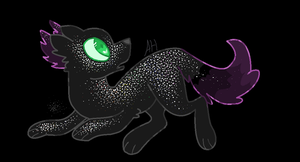 Dog in Outer Space by AstralDragons