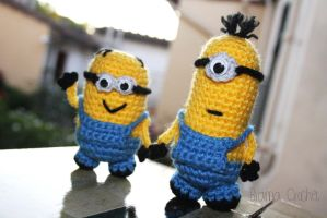 Minions 'Despicable Me' Amigurumi doll by BramaCrochet