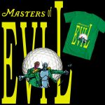 Masters of Evil T-Shirt Design by Crom1971
