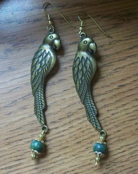 Birds of Paradise Necklace set by Angeleyesboutique40
