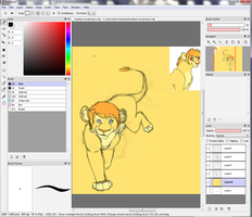 Lion W.I.P by Iva-Inkling