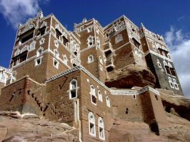 Castle in the Sky - Yemen by bowleytraveler