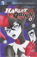DC Comics - Harley Quinn Sketch Comic Cover by DenaeFrazierStudios