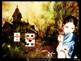 alice in the land of madness by irionik