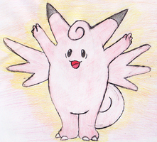 36 - Clefable by JacobMace