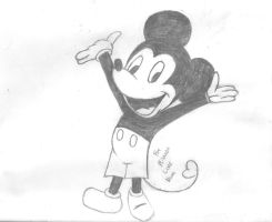 Mickey Mouse - For Milanna by mysticdragon666