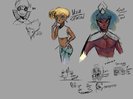 oh lookie a sketch dump wow by Differshipping