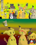 Commission for NotMolo: Mimikyu Club by Quilaviper