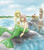 mermaids and.... perverts? by SpringMango
