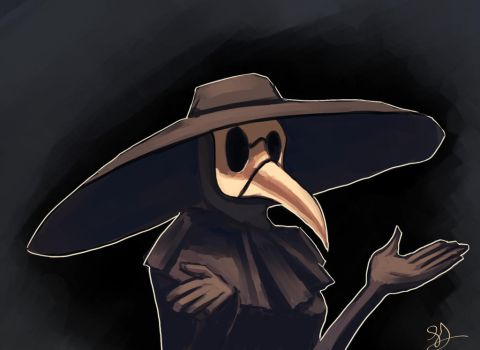 Plague Doctor by kookri