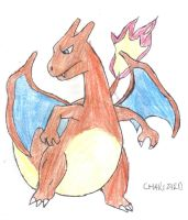 Charizard! by dark-legionleader