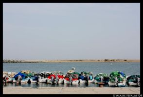Boat line up by alasse91