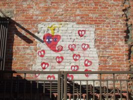 Heart Graffiti by Insane-Hare