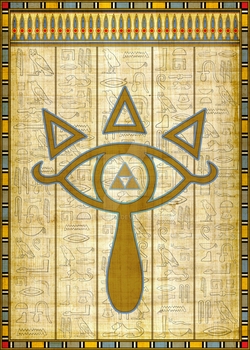 The Elemental Eye of Sheikah by ever-so-excited