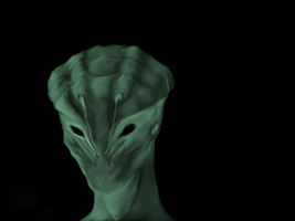 Phosphorescent Alien by TheBlasianBruski