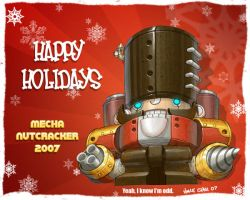 mecha nut cracker by kidchuckle