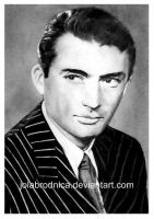 Gregory Peck by jolabrodnica