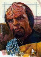 worf sketch by charles-hall