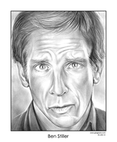 Ben Stiller by gregchapin