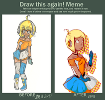 draw this again! by gummiGrenades