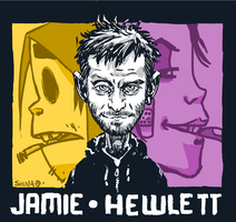Jamie Hewlett by Heri-Shinato