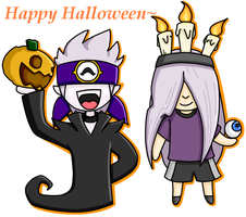 Happy Halloween uhuhuhu by Amane-san