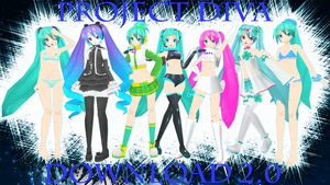 Miku Pack 2 Download v2.0 by AlexIsDeadddx