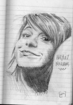 hayley williams by rushenvy