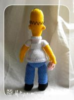 Homer - The Simpsons - Amigurumi by Multigurumi