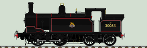 LSWR M7 liveries - 30053 by 2509-Silverlink