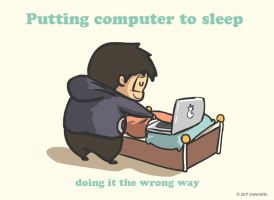 Putting Computer to Sleep by Poporetto