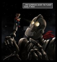 Iron Giant Fanart by mirchiz