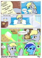 MLP:FIM - Dental Priorities by TikyoTheEnigma