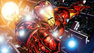 The Invincible Iron Man by ProfessorAdagio