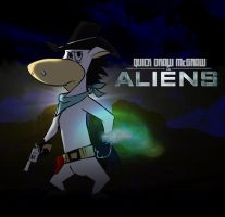 Q.D.McGraw n Aliens by ScoobyKun