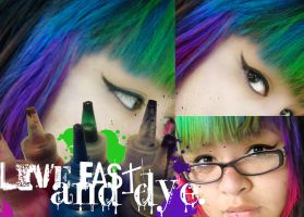 Live Fast and Dye by ADandyWarhol