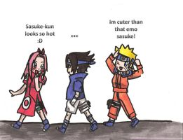 follow me team 7 :before by lilacalosa